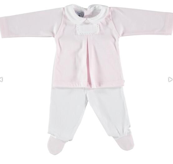 Babidu Baby 2pc Pink Set