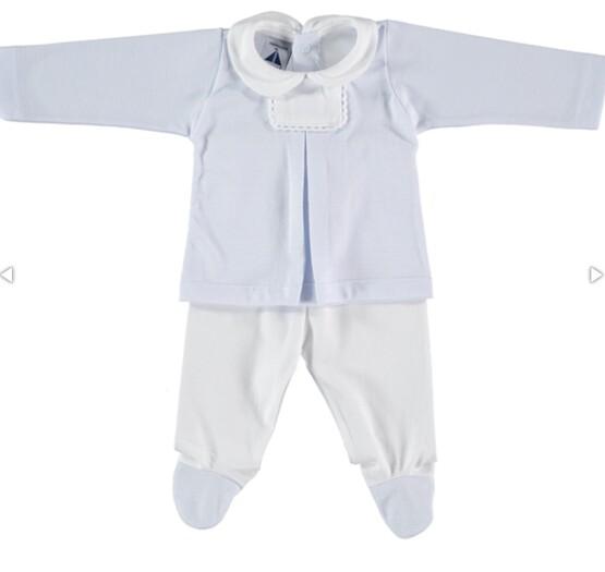Babidu Baby 2pc Blue Set