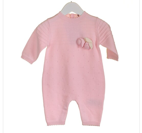 100% Cotton Knitted Babygrow