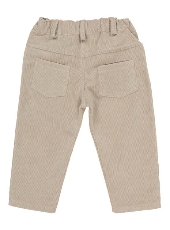 Babidu Camel Pin Cord Trousers