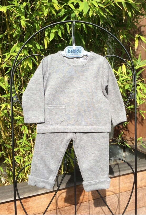 Babidu 2 Piece Winter Set in Grey Ref 66165