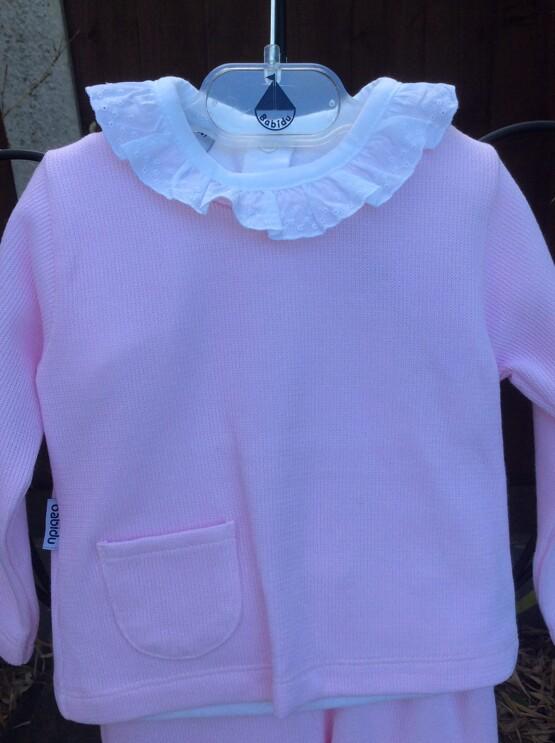 Babidu 2 Piece Winter Set in Pink Ref 66165