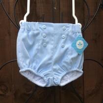 Baby Boys Blue Shorts – Velvet Feel