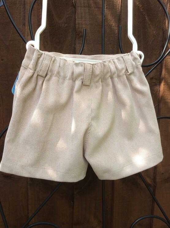 Boys Camel Shorts By Spanish Brand Sardon