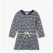 Starry Stripes French Terry Dress by Hatley