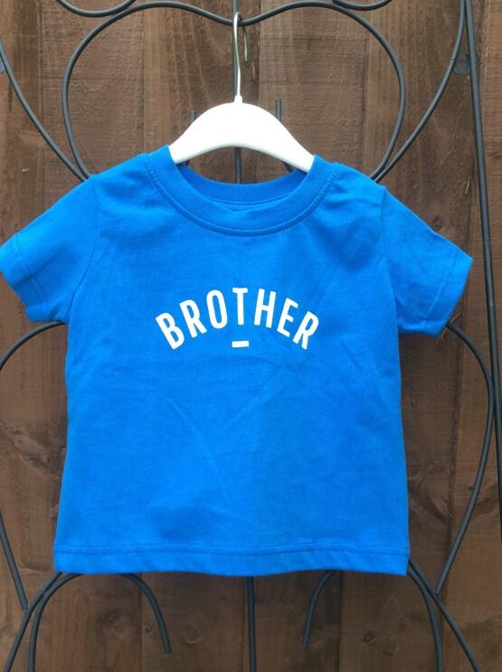 Bob & Blossom Blue BROTHER Tee Shirt