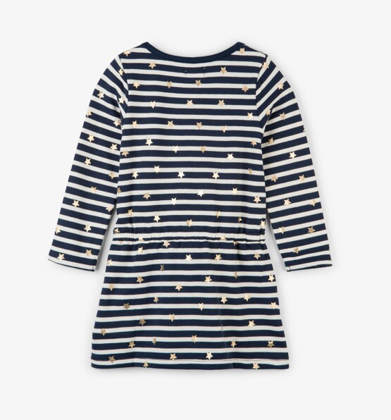 Hatley Navy Striped Dress