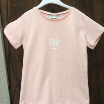 Bob & Blossom Peachy Pink SIX Tee Shirt (Birthday Tee Shirt)