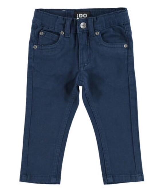 Boys Navy Blue Slim Fit chinos  – by Italian Brand Ido